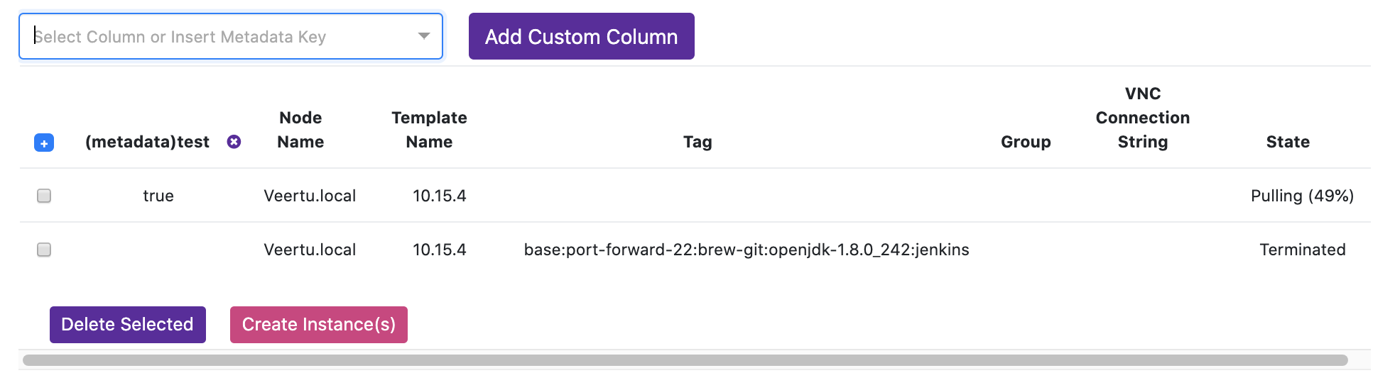 Custom Column from Metadata
